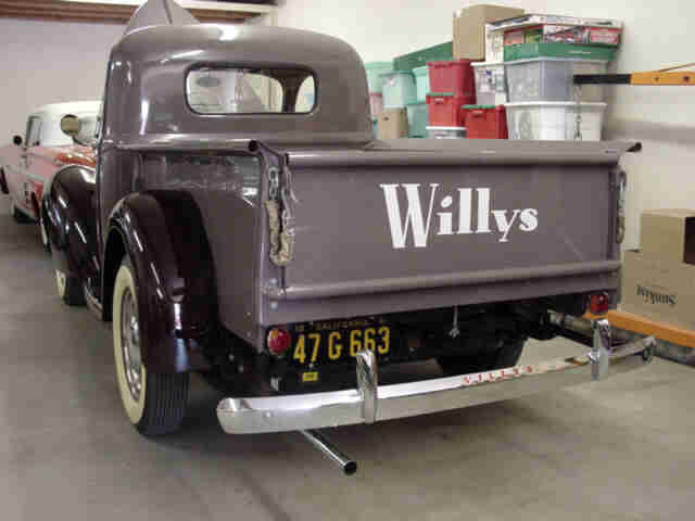 Willys Overland Knight Registry Photo Detail