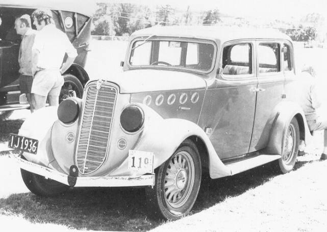 Willys Overland Knight Registry