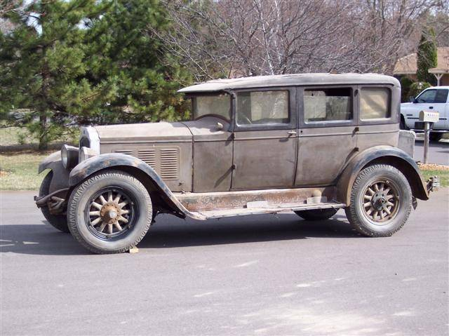 1928 Willys Knight Model 66A Sedan - America